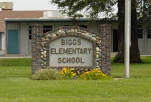 Front of Biggs Elementary